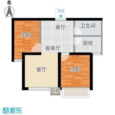 吴中北国之春73.00㎡G2户型2室2厅1卫