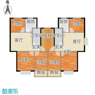 黄海齐鲁花园户型6室2厅2卫2厨