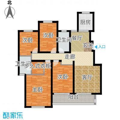 山水龙瑞141.00㎡山水龙瑞D户型4室2厅2卫141.00㎡户型4室2厅2卫