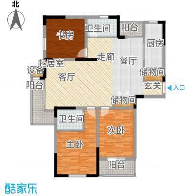 石棚名居137.00㎡石棚名居户型3室2厅2卫