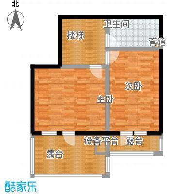 天茂湖三期温莎园F2二层平面图户型