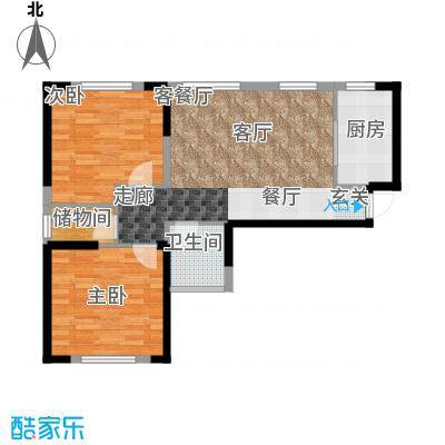 中国铁建国际花园85.59㎡中国铁建国际花园X