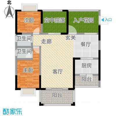 和瑞深圳青年二期104.00㎡户型3室2厅2卫LL