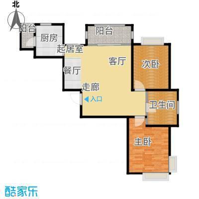 新田之星85.26㎡户型10室