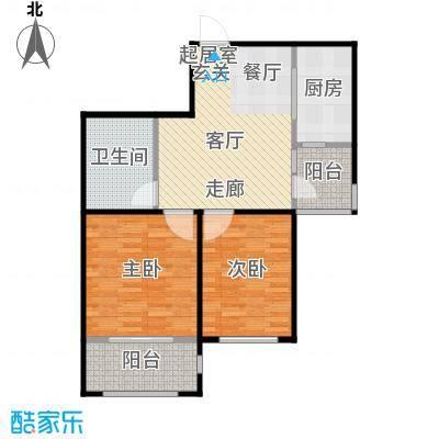 新田之星76.44㎡户型10室