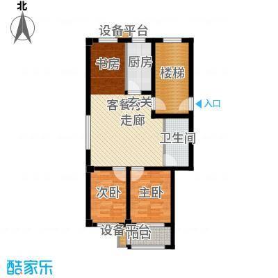 泰乐家园领秀城81.07㎡2室2厅1卫