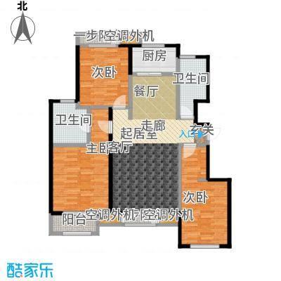 天承锦绣131.03㎡L户型3室2厅2卫