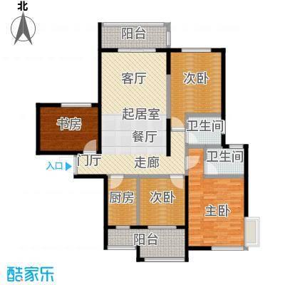 海港城112.00㎡4、5号楼户型4室2厅2卫
