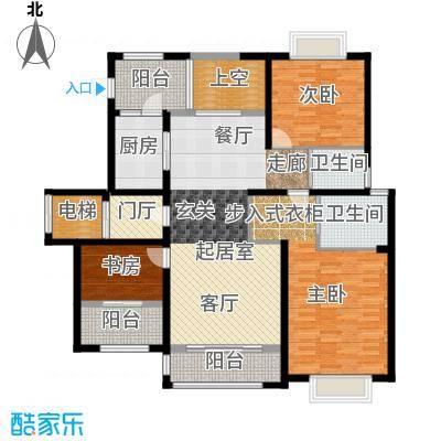 和协风格尚品137.00㎡C户型3室2厅2卫QQ