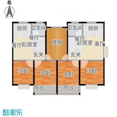 黄海齐鲁花园户型4室2卫