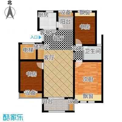 香溪左岸户型3室1厅1卫1厨