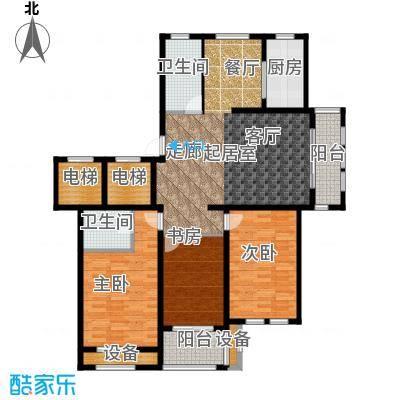 香溪左岸户型3室2卫1厨