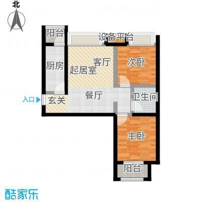 尚郡翠林苑B4户型图2013.9.25-02户型
