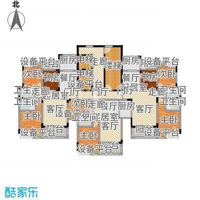 大润发广场1#楼经典户型赏析82.7-121.92平米户型3室2厅2卫