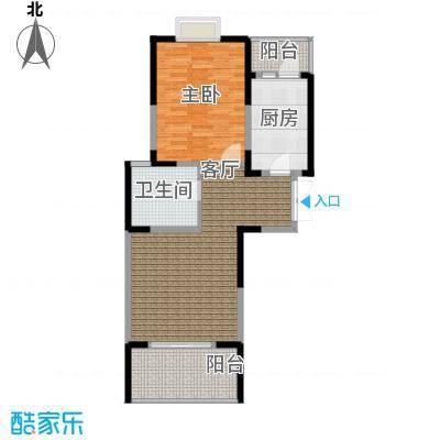 汇智・阳澄华庭70.00㎡一室一厅70平米户型1室1厅1卫