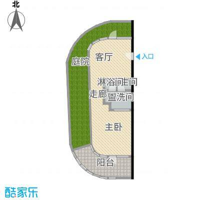 檀悦豪生度假酒店公寓00㎡101平米套间户型1室1厅1卫LL