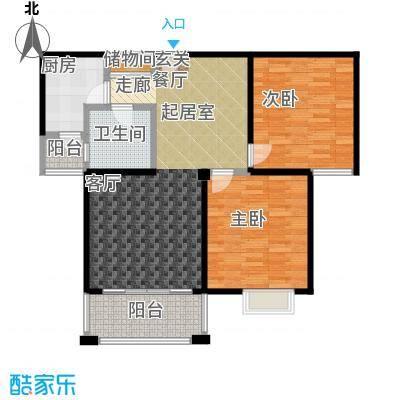 丽阳兰庭95.00㎡户型F2/F5 两室两厅一卫 建筑面积约:95.3㎡/94㎡户型2室2厅1卫