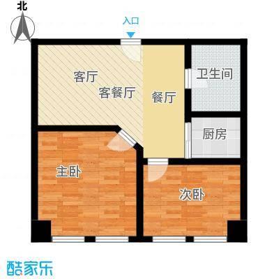 秀东尚座67.00㎡A5户型