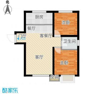 吴中北国之春83.00㎡G3户型2室2厅1卫