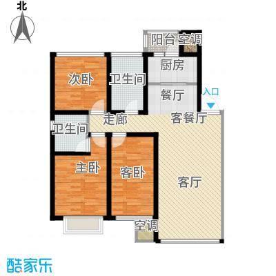 吴中北国之春111.00㎡D4户型3室2厅2卫