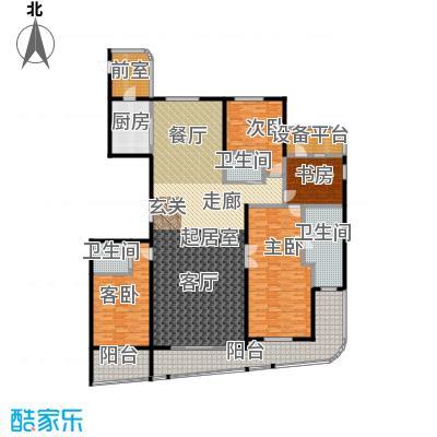 兴龙 香玺海283.00㎡1、2、4号楼B户型4室2厅3卫户型4室2厅3卫
