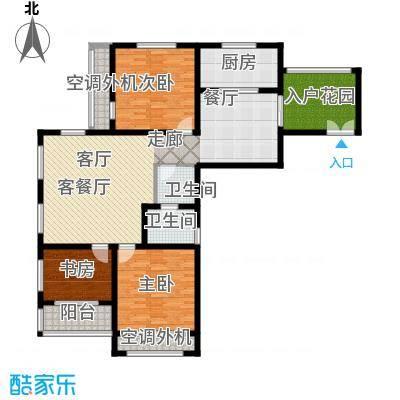 左岸尚海湾135.00㎡1/3号楼 B户型3室2厅1卫