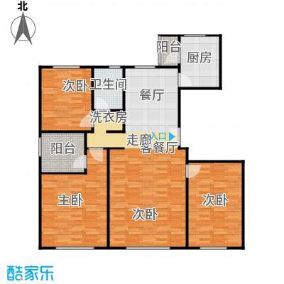 亿利城文澜雅筑146.26㎡户型3室2厅2卫