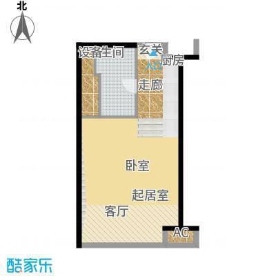 天津环球金融中心59.00㎡A01-A14-59-61平米户型