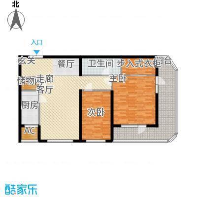伊泰CEO国际中心123.00㎡2室2厅1卫