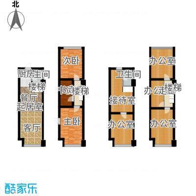 亚东新城国际61.00㎡E户型2室