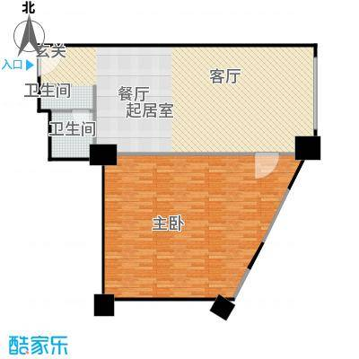 百悦 梧桐中心114.09㎡A3户型