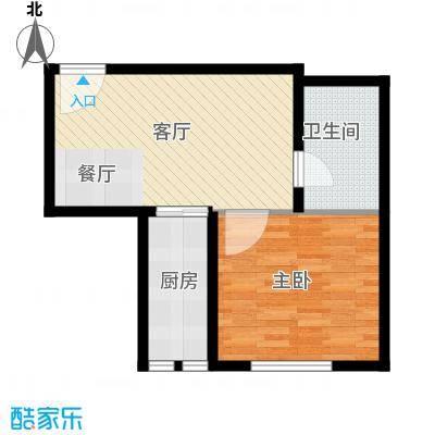 高铁时代广场50.27㎡户型10室