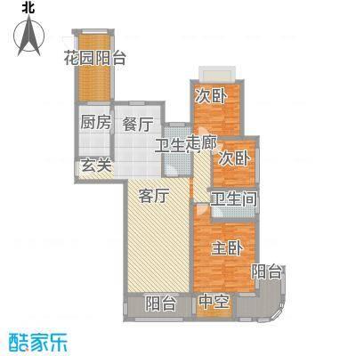 万佳裕园138.66㎡3室2厅2卫