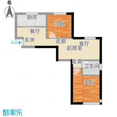 中国铁建国际花园84.78㎡中国铁建国际花园三期G户型QQ