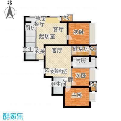新松・茂樾山127.00㎡建筑面积约127平米D1+D2户型