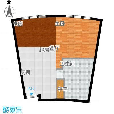 天津中心84.36㎡b-1户型