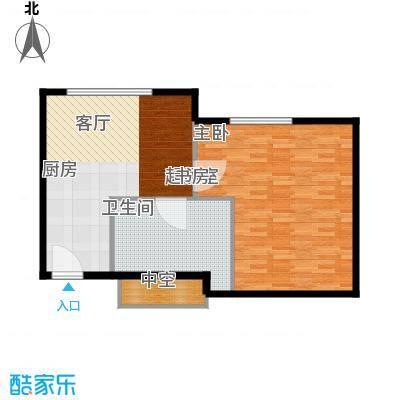 天津中心75.68㎡b-2户型