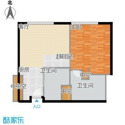 天津中心97.09㎡b-4户型