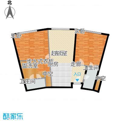 天津中心124.59㎡c-3户型