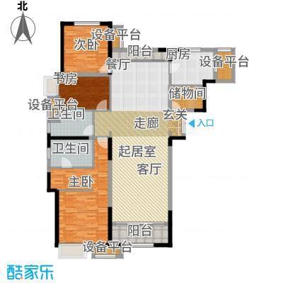 金融街和平中心173.00㎡54a-02户型3室2厅2卫