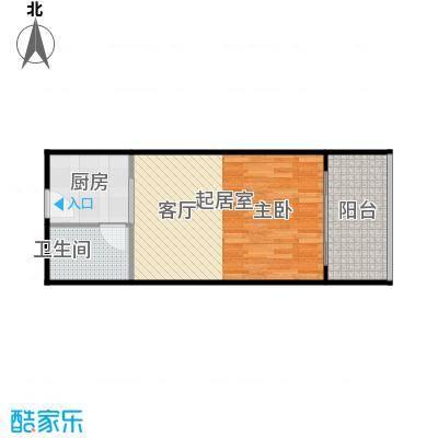 井冈・江山户型1卫1厨
