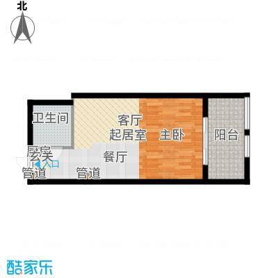 东方塞纳东方塞纳36-50平方米单身公寓户型