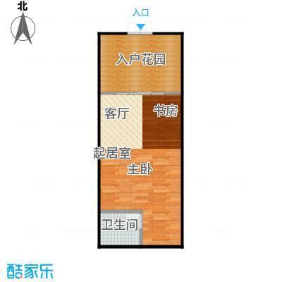 井冈・江山42.60㎡公寓A户型1室1厅1卫