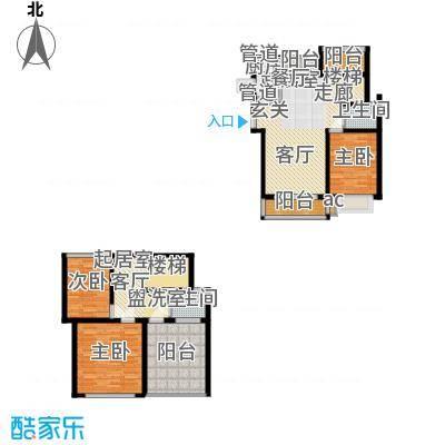 东方塞纳128.00㎡3室2厅2卫