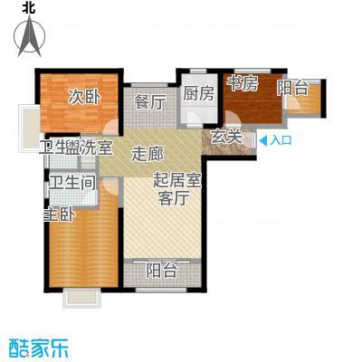 北辰红星国际广场130.19㎡C2户型3室2厅2卫