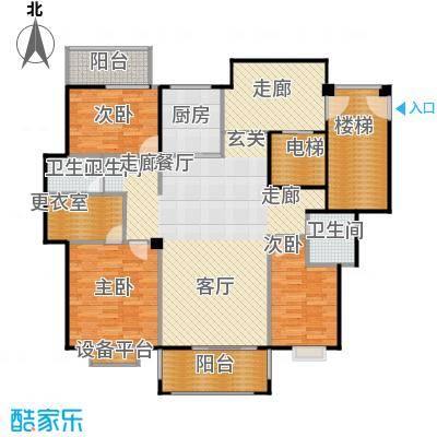 厦门金色阳光户型3室1厅2卫1厨