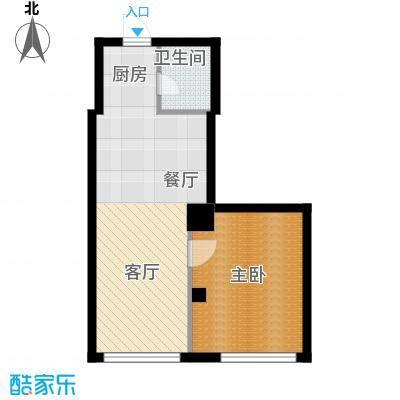 景阳SOHO户型1室1厅1卫