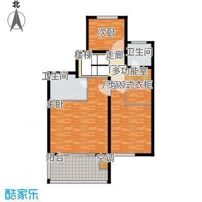 商城凤凰印象128.99㎡D2复式户型4室2厅3卫