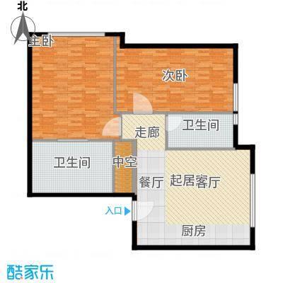 天津中心128.50㎡c-2户型