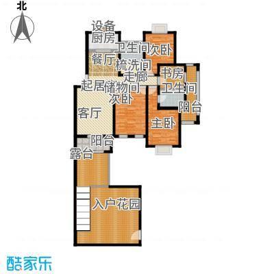 香溪左岸户型4室2卫1厨